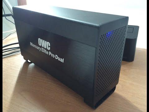 Unboxing: OWC Mercury Elite Pro Dual