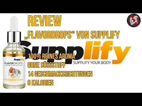 Review: Flavour Drops von Supplify im Test