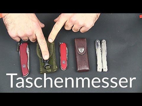 Meine 3 Taschenmesser von Victorinox (Swiss Tool Spirit X, Rucksack, ...)   Outdoor AusrüstungTV
