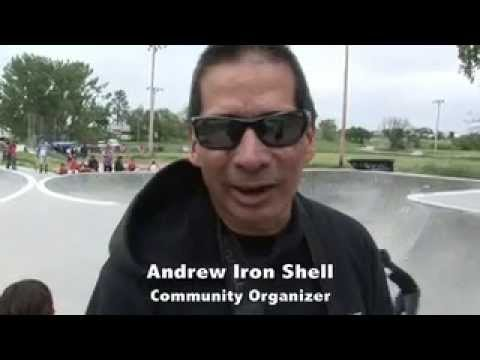 Local Youth Shred At Wounded Knee SkatePark Pine Ridge, South Dakota 2014 ESND NEWS