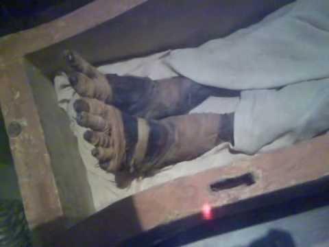 جثة فرعون تصوير واضح جدا