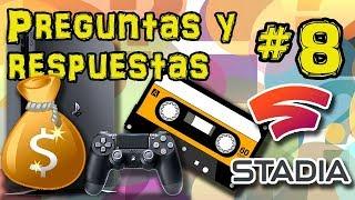 ¿Vivo de YouTube? Stadia, PlayStation 4, GameDev... | Preguntas y Respuestas #8
