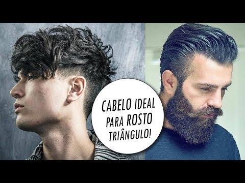 Corte de cabelo - Cortes de Cabelo Masculino para Rosto Triângulo