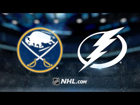 Kucherov earns 100th point in 7-5 win against Sabres