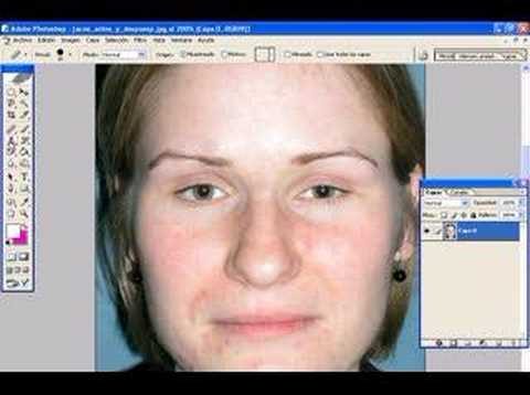 Quitar impurezas del rostro con photoshop