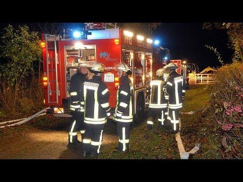 Hillershausen: Kellerbrand auf Tannenhof