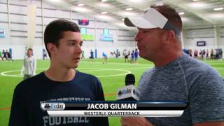 Westerly QB Jacob Gilman