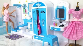 Video Barbie pop Badkamer Slaapkamer Ochtend routine MP3, 3GP, MP4, WEBM, AVI, FLV Agustus 2018