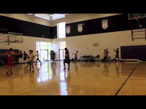 Intramural Basketball: Day one