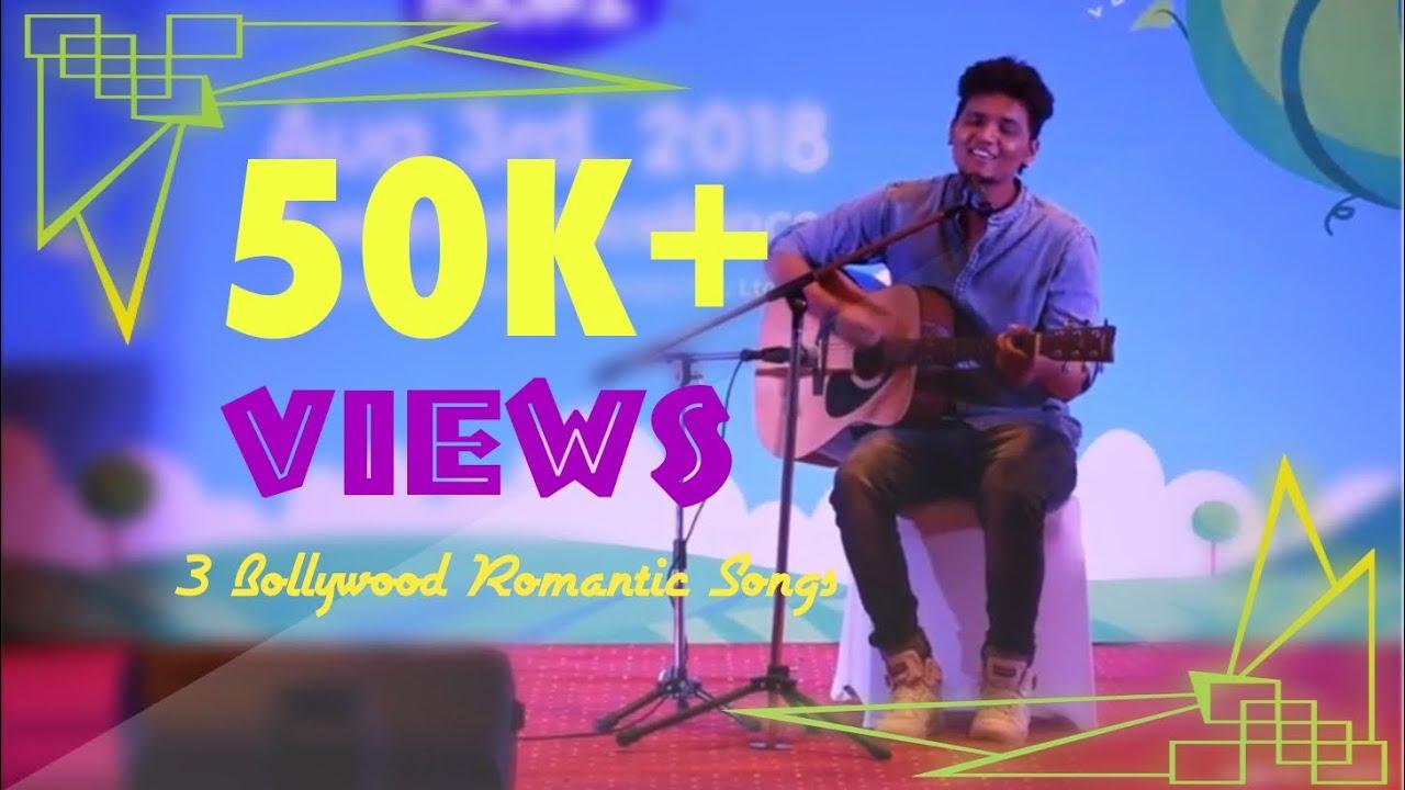 3 Bollywood Forever Romantic Songs | Best mashup 2018 | Guitar | Acoustic | cover | Kushal Kumar