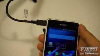 Ich probiere die USB OTG Funktionalität des Sony Xperia Z1 Compact und erkläre, wie das ein sehr gutes Feature des Smartphones ist. Das USB OTG Kabel wird von Sony mitgeliefert.