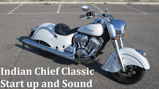 7. Indian Chief Classic Start up and Sound