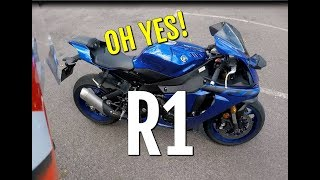 3. Yamaha R1  - 2018 - Review and Fast Ride on the YZF-R1