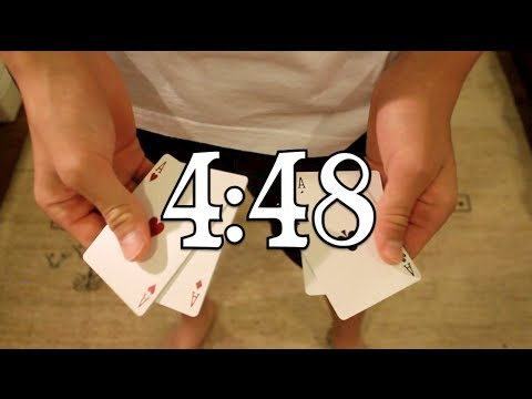 TRANSPORTATION CARD TRICK//Learn David Blaine Magic//Card Trick Revealed