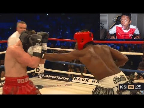 KSI vs Joe Weller – Boxing Match February 3rd 2018 FULL FIGHT REACTION!! (видео)