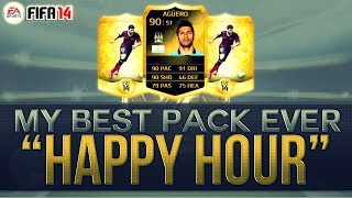 FIFA 14 Ultimate Team | BEST PACK EVER (Happy Hour 15K Packs)