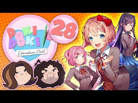 Doki Doki Literature Club!: Jealousy - PART 28 - Game Grumps