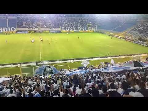 Celebracion Gol Alianza F.C. 1 vs 0, Olimpia Liga CONCACAF - La Ultra Blanca y Barra Brava 96 - Alianza