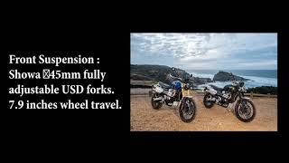 7. 2019 Triumph Scrambler 1200 XC and XE Specifications
