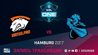Virtus.Pro vs NewBee, ESL One Hamburg, game 2 [GodHunt, Dead_Angel]