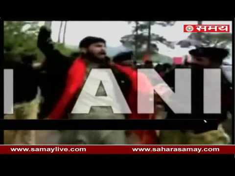 Police brutality on PoK locals on protest against Pakistan