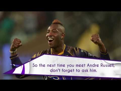 KKR Funfacts | Andre Russell