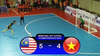 Video Adu Penalti Malaysia Vs Vietnam (5-4) Semifinal AFF Futsal Championship 2018 MP3, 3GP, MP4, WEBM, AVI, FLV November 2018