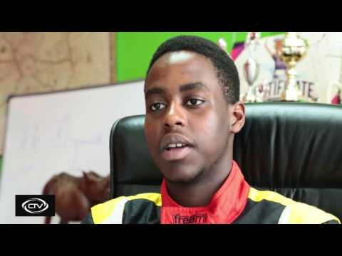 Young Kenyan racer aims for Formula 1 glory