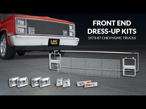 Front End Dress Up Kit For Chevy & GMC Trucks - TruckU with LMC Truck