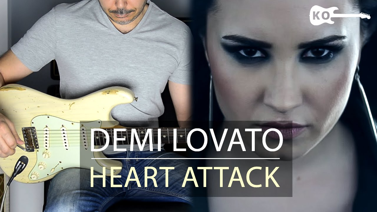 Demi Lovato – Heart Attack – Electric Guitar Cover by Kfir Ochaion