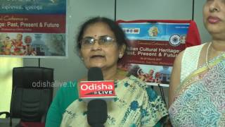 Swarnamayee Tripathy, HoD, Dept. of Public Admn., Utkal University - ICICH Press Meet - Interview