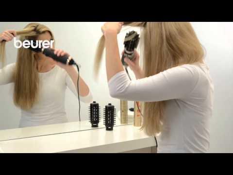 Quick Start Video zur rotierenden Warmluftbürste HT 80 von Beurer.