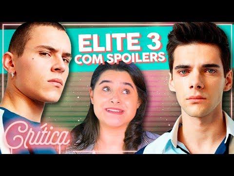 A MELHOR TEMPORADA? Um desenvolvimento INCRIVEL de personagens em ELITE 3 | Alice Aquino