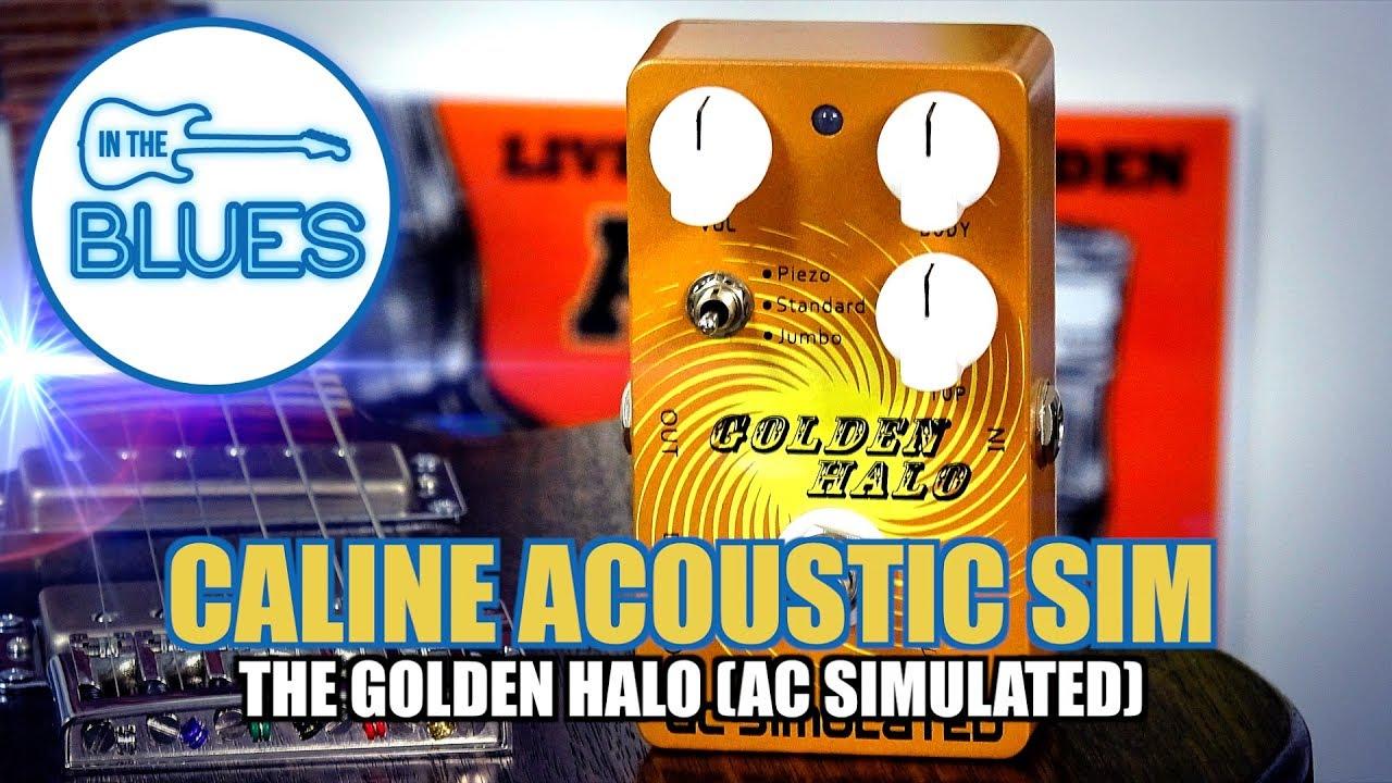 "Caline Acoustic 'Golden Halo"" Guitar Simulator (AC Simulator) Pedal"