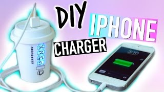 DIY Room Decorations: Tumblr Iphone Charger! - YouTube