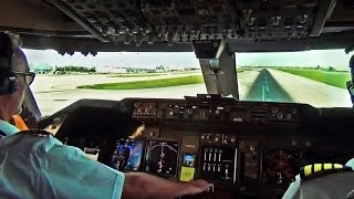 Video Boeing 747 Cockpit View - Take-Off from Miami Intl. (MIA) MP3, 3GP, MP4, WEBM, AVI, FLV Januari 2019