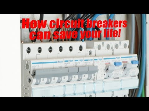How circuit breakers can save your life!    MCB, RCCB, Galvanic Isolation
