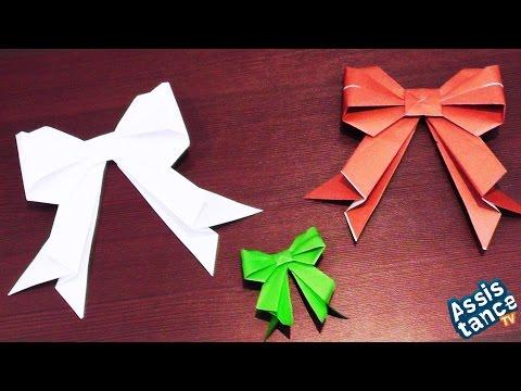Бантик из бумаги поделки своими руками