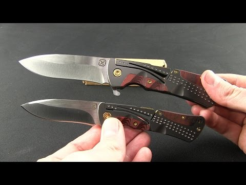 "Klecker Knives Cordovan Lockback Knife (3.675"" Satin) NT-03"