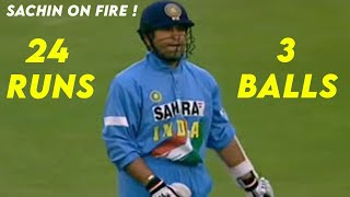 Video Sachin Tendulkar 24 Runs off 3 Balls..!!! Fully Legal Deliveries (Not No-Ball or Penalty) MP3, 3GP, MP4, WEBM, AVI, FLV Agustus 2018