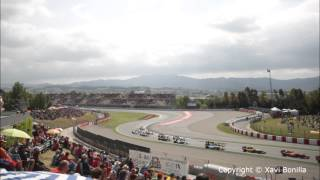Timelapse Gran Premio de España 2013 de Formula One