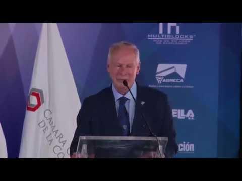 Discurso Alcalde Alvaro Arzú en Construfer 2018