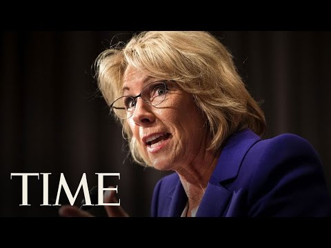 Betsy DeVos Secretary Of Education Hearing Highlights | TIME