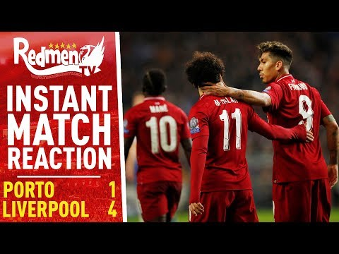 Porto 1-4 Liverpool | Instant Match Reaction