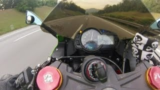 10. Kawasaki ZX-636R 2013 Top Speed