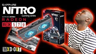 Sapphire Nitro+ Radeon 570 Graphic Card Review (stock). We are taking a look a the Sapphire Nitro Radeon 570 GPU. In this video will be looking at the GPU in stock and part 2 will be coming where we overclock this mean looking card. If you liked this video then why not checkout our Graphic Card Reviews & Overclocking Videos playlist below:https://www.youtube.com/playlist?list=PLQ_8_yVZSSGVEkD9yUReZOY6dUHN0Si3x 💸 Use our Overclockers UK affiliate link! - https://goo.gl/gEUmrR💸 Or our Amazon affiliate link! - http://amzn.to/2pbp36W👕👚 SHOP MXDOUT MERCH! 👚👕https://shop.spreadshirt.co.uk/MXDOUT/See you in the next one, thanks for watching! 😜