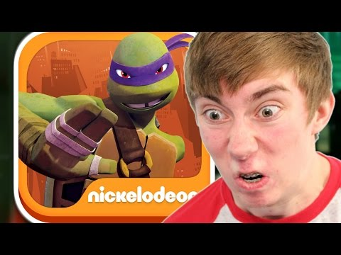 ninja - My wristband things » http://lonnie.me/merch Lonnie plays Teenage Mutant Ninja Turtles: Rooftop Run (iPhone Gameplay Video) This is part 1 of my video game commentary playthrough / walkthrough...