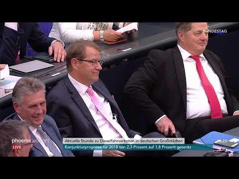 Bundestag: Aktuelle Stunde zu Dieselfahrverboten in d ...