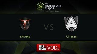 EHOME vs Alliance, game 2