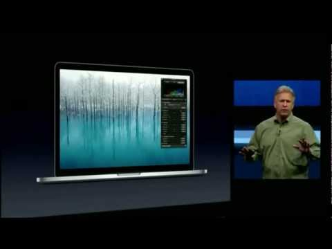 , title : 'Apple WWDC 2012 - MacBook Pro with Retina Display Introduction'